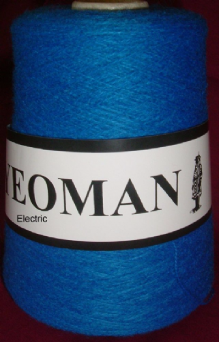 Yeoman Fifty Fifty 50/50 Yarn - Electric